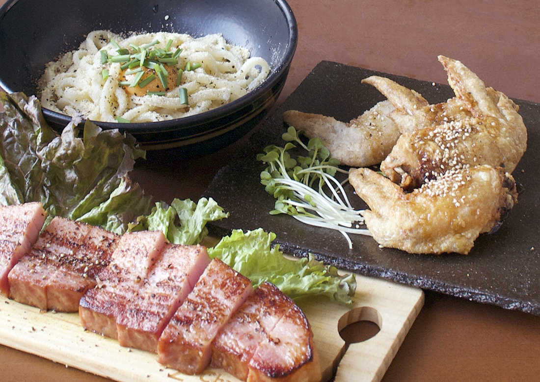 Miyabi-雅- 至高の手羽先・和るぼなーら・厚切りベーコンステーキ