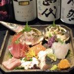 寿司工房 空 刺身の盛り合わせ