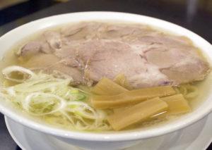 らーめん竹三 塩チャーシュー麺